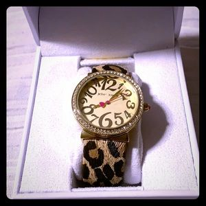 Like New Betsey Johnson Watch